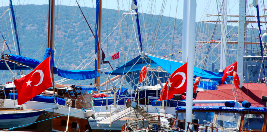 Sailing in Turkey infographic