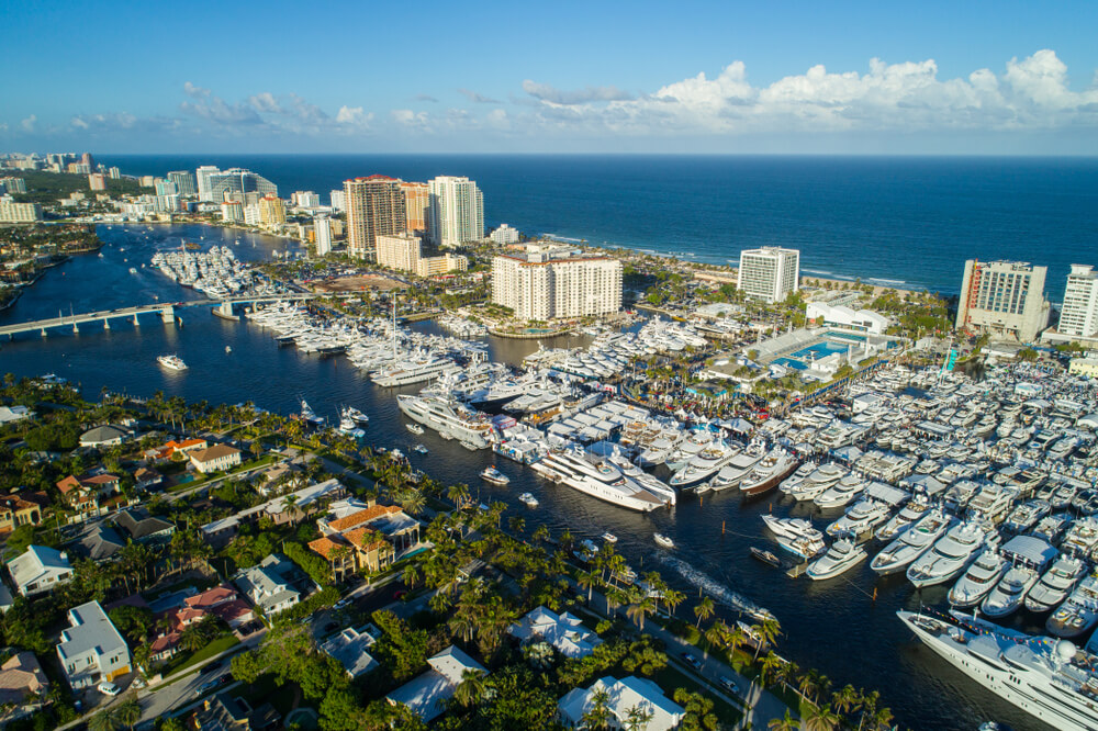 sailing in the usa fort laudardale