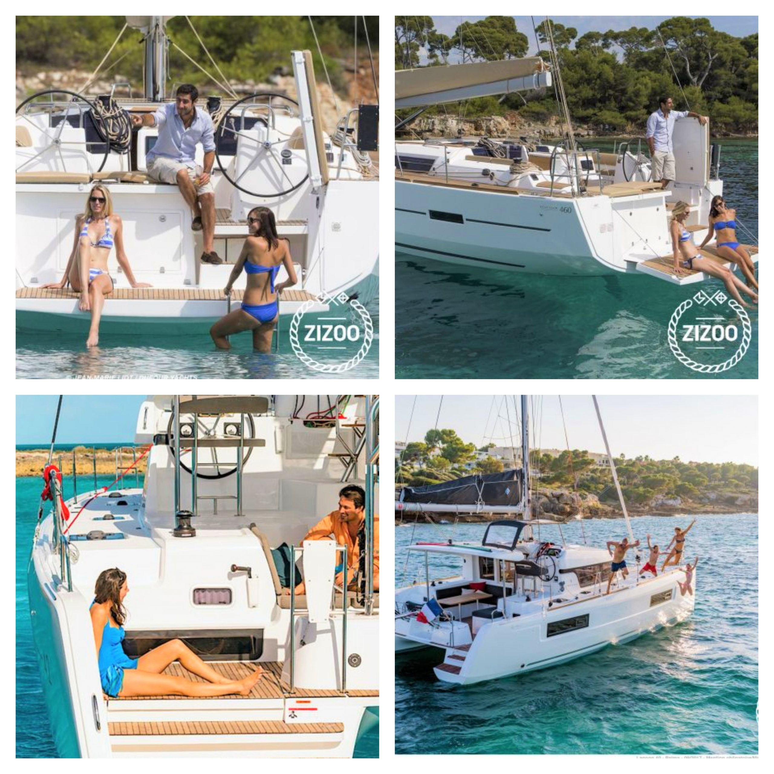 best boats to rent sailing holiday with friends