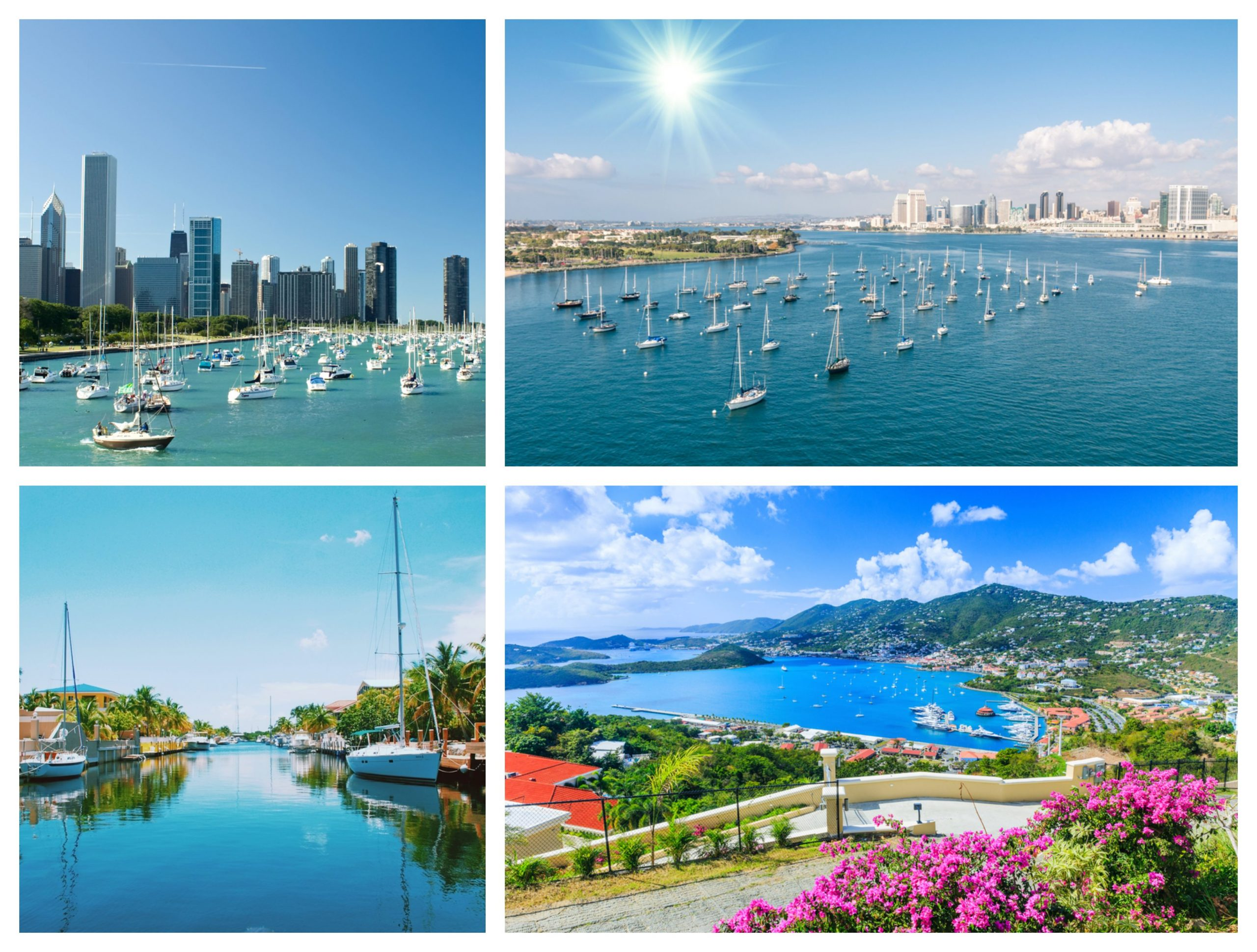 Best Places for Sailing in the US