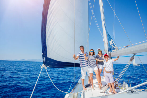 Perfect Day on a Family Sailing Holiday