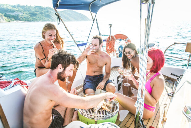 extras on a boat charter